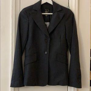 BCBGMaxAzria tailored blazer in dark charcoal NWT
